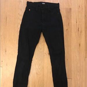 Black Hudson Skinny Jeans